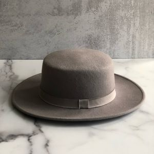 HatAttack Eustace Boater purchased at Club Monaco